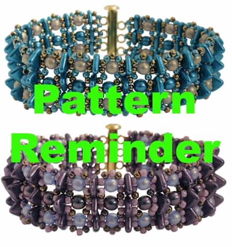 Starman Trifecta Bracelet Pattern Reminder