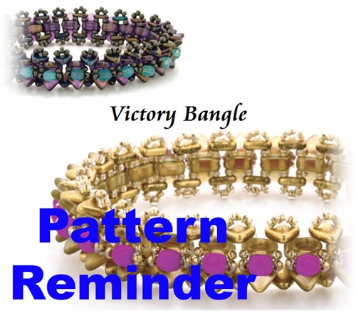 Starman TrendSetters Victory Bangle Pattern Reminder