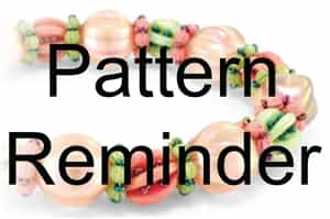 Starman Whatamelon Bracelet Pattern Reminder