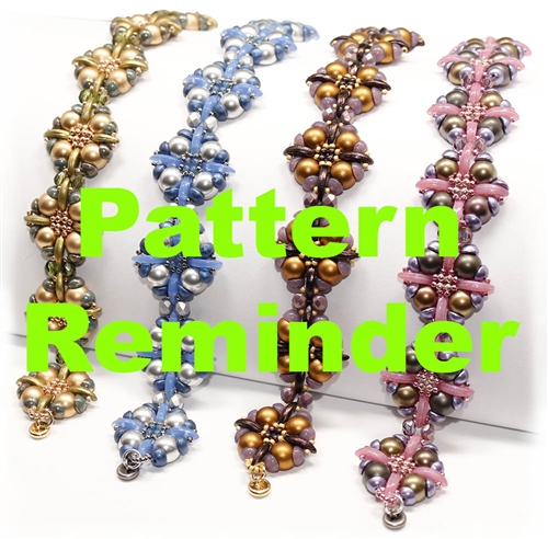 Starman Wildflower Bracelet Pattern Reminder