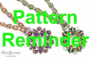 Starman Windflower Necklace Pattern Reminder