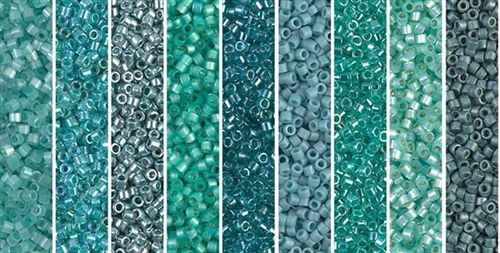 Age of Aqua Monday - Exclusive Mix of Miyuki Delica Seed Beads