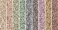 Alabaster Monday - Exclusive Mix of Miyuki Delica Seed Beads