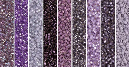 Alexandrite Monday - Exclusive Mix of Miyuki Delica Seed Beads