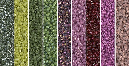 Avocado Rose Monday - Exclusive Mix of Miyuki Delica Seed Beads