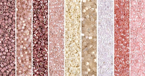 Ballet Slipper Monday - Exclusive Mix of Miyuki Delica Seed Beads