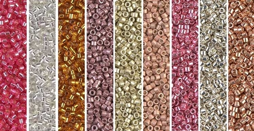 Be Mine Monday - Exclusive Mix of Miyuki Delica Seed Beads
