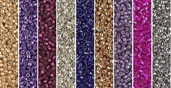 Bling Monday - Exclusive Mix of Miyuki Delica Seed Beads