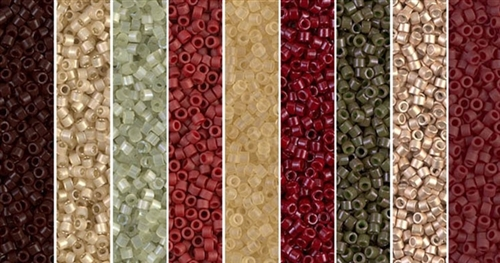 Brick House Monday - Exclusive Mix of Miyuki Delica Seed Beads