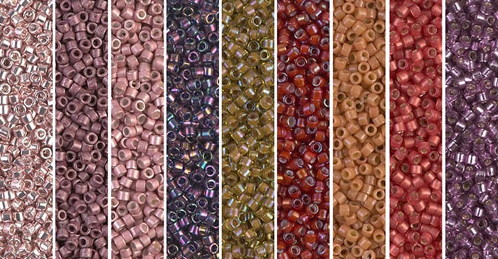 Butterum Monday - Exclusive Mix of Miyuki Delica Seed Beads