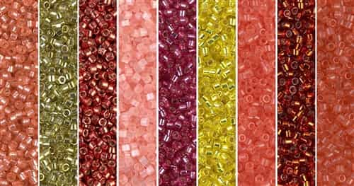 Cherry Tomato Monday - Exclusive Mix of Miyuki Delica Seed Beads