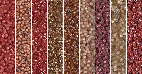 Chili Oil Monday - Exclusive Mix of Miyuki Delica Seed Beads