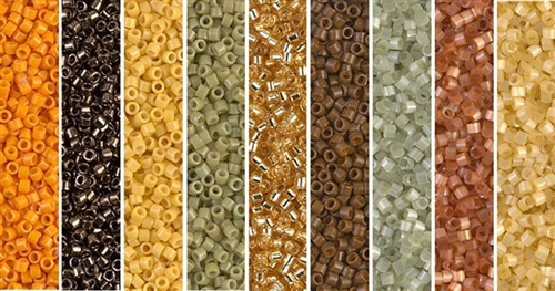 Cirque Monday - Exclusive Mix of Miyuki Delica Seed Beads