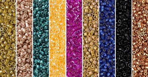 City Lights Monday - Exclusive Mix of Miyuki Delica Seed Beads