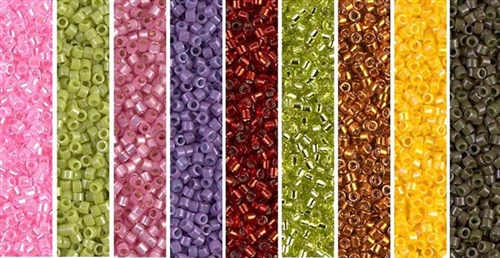 Colorful Monday - Exclusive Mix of Miyuki Delica Seed Beads