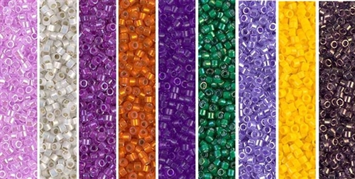 Crocus Monday - Exclusive Mix of Miyuki Delica Seed Beads