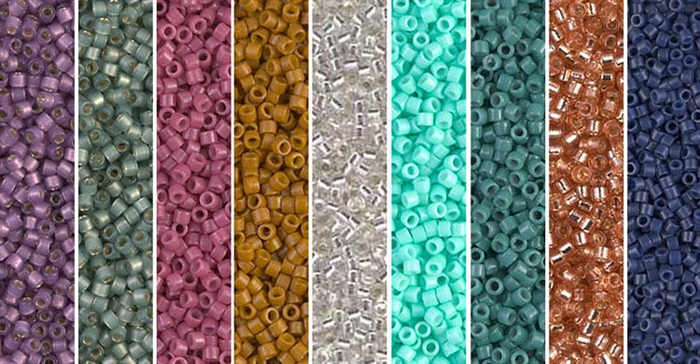 Crossroads Monday - Exclusive Mix of Miyuki Delica Seed Beads