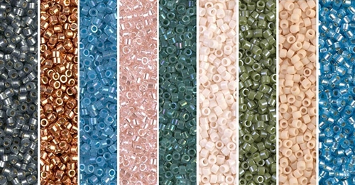 Dagmar Monday - Exclusive Mix of Miyuki Delica Seed Beads
