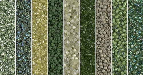 Desert Sage Monday - Exclusive Mix of Miyuki Delica Seed Beads
