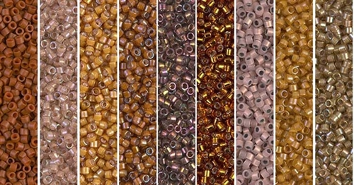 Discovery Monday - Exclusive Mix of Miyuki Delica Seed Beads
