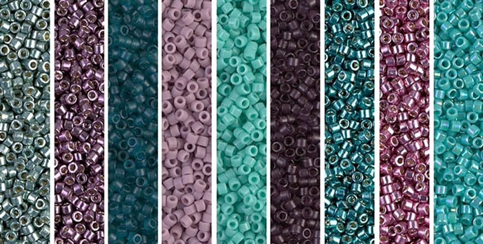 Dragonfly Monday - Exclusive Mix of Miyuki Delica Seed Beads