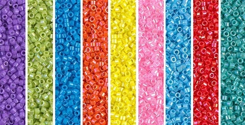 Easter Egg Monday - Exclusive Mix of Miyuki Delica Seed Beads