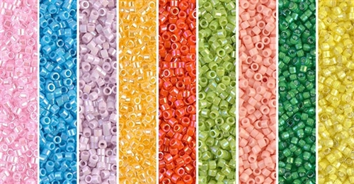 Easter Monday/Opaques - Exclusive Mix of Miyuki Delica Seed Beads
