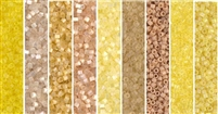 Eggnog Monday - Exclusive Mix of Miyuki Delica Seed Beads