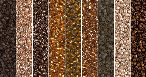 Emperador Monday - Exclusive Mix of Miyuki Delica Seed Beads