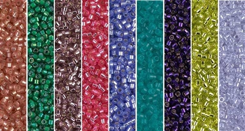 Flower Garden Monday - Exclusive Mix of Miyuki Delica Seed Beads