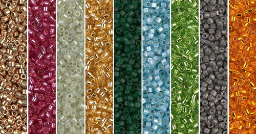 Four Corners Monday - Exclusive Mix of Miyuki Delica Seed Beads