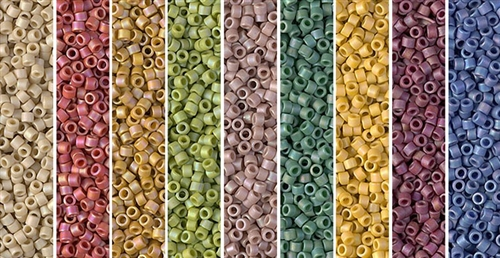 Glazed Monday - Exclusive Mix of Miyuki Delica Seed Beads