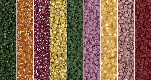 Harvest Monday - Exclusive Mix of Miyuki Delica Seed Beads