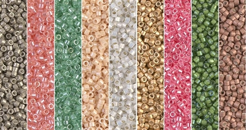 Heirloom Monday - Exclusive Mix of Miyuki Delica Seed Beads