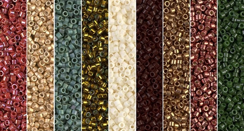 Holiday Monday - Exclusive Mix of Miyuki Delica Seed Beads