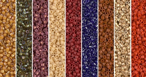 Ides of March Monday - Exclusive Mix of Miyuki Delica Seed Beads
