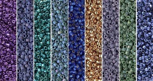 Iris Monday - Exclusive Mix of Miyuki Delica Seed Beads