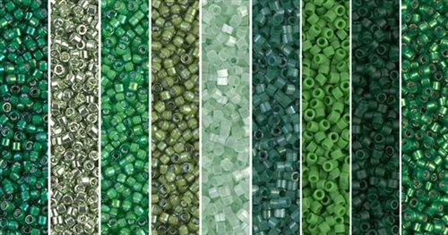 Irish Monday - Exclusive Mix of Miyuki Delica Seed Beads