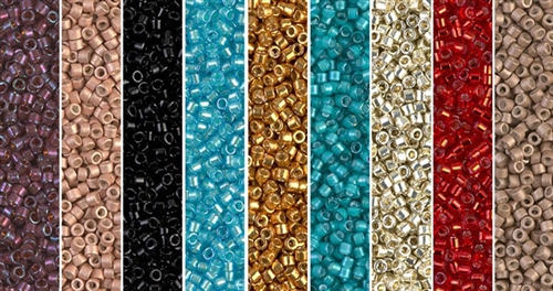 Jubilee Monday - Exclusive Mix of Miyuki Delica Seed Beads