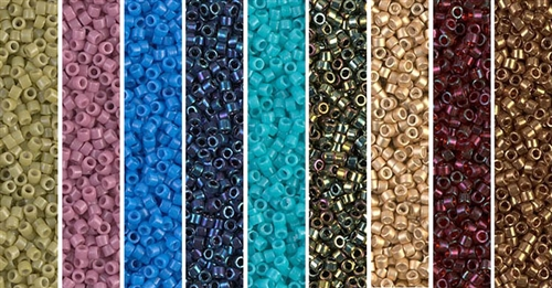 Ladder Monday - Exclusive Mix of Miyuki Delica Seed Beads