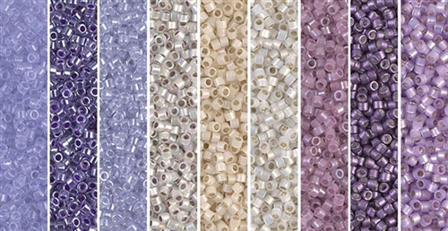 Lunar Monday - Exclusive Mix of Miyuki Delica Seed Beads
