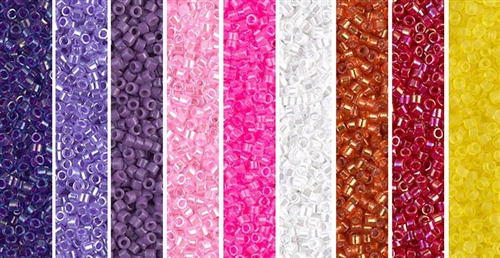 Lunes de los Muertos Monday - Exclusive Mix of Miyuki Delica Seed Beads