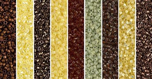 Meadowlark Monday - Exclusive Mix of Miyuki Delica Seed Beads