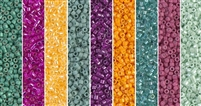 Minty Monday - Exclusive Mix of Miyuki Delica Seed Beads