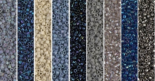 Montana Monday - Exclusive Mix of Miyuki Delica Seed Beads