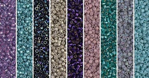 Moonlight_Serenade Monday - Exclusive Mix of Miyuki Delica Seed Beads