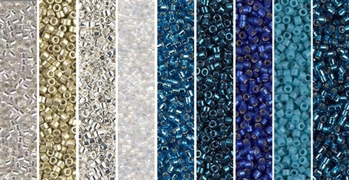 Nocturne Monday - Exclusive Mix of Miyuki Delica Seed Beads