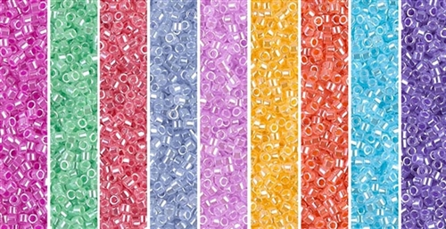 Opaque Luster Monday - Exclusive Mix of Miyuki Delica Seed Beads