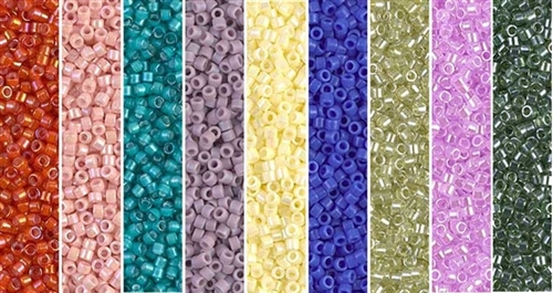 Patchwork Monday - Exclusive Mix of Miyuki Delica Seed Beads