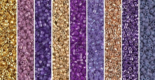 Peirot Monday - Exclusive Mix of Miyuki Delica Seed Beads
